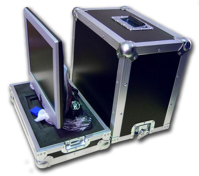 flight cases para audiovisuales